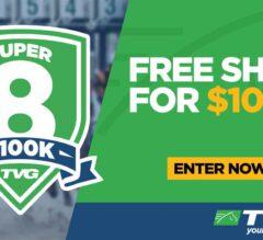 Play TVG Super 8 for Free Shot At $100K