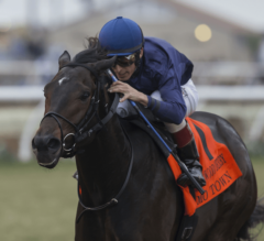Mo Town Blows Down Stretch, Wins G1 Hollywood Derby