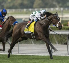 Daddys Lil Darling Breaks Through In G1 American Oaks