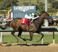 Edwards Going Left Leaves Foes In Dust In $150,000 California Cup Sprint