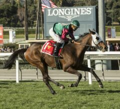 Pulpit Rider Rallies Home To Take $200,000 Cal Cup Oaks