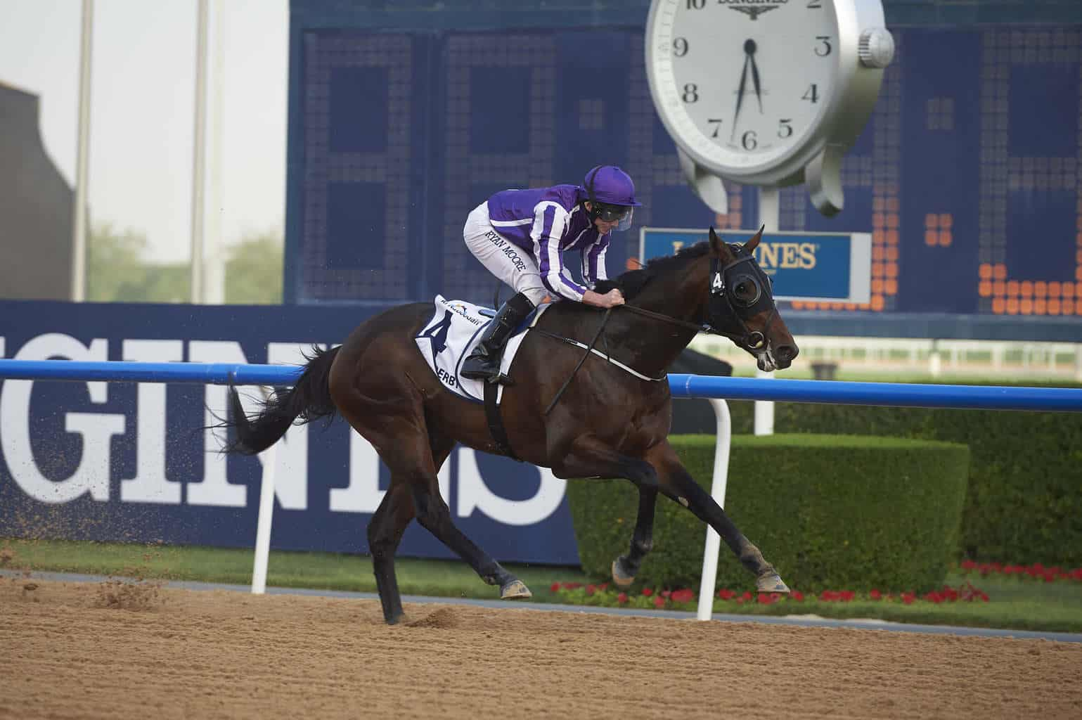 Mendelssohn a brilliant 18 length victor of the UAE Derby at Meydan