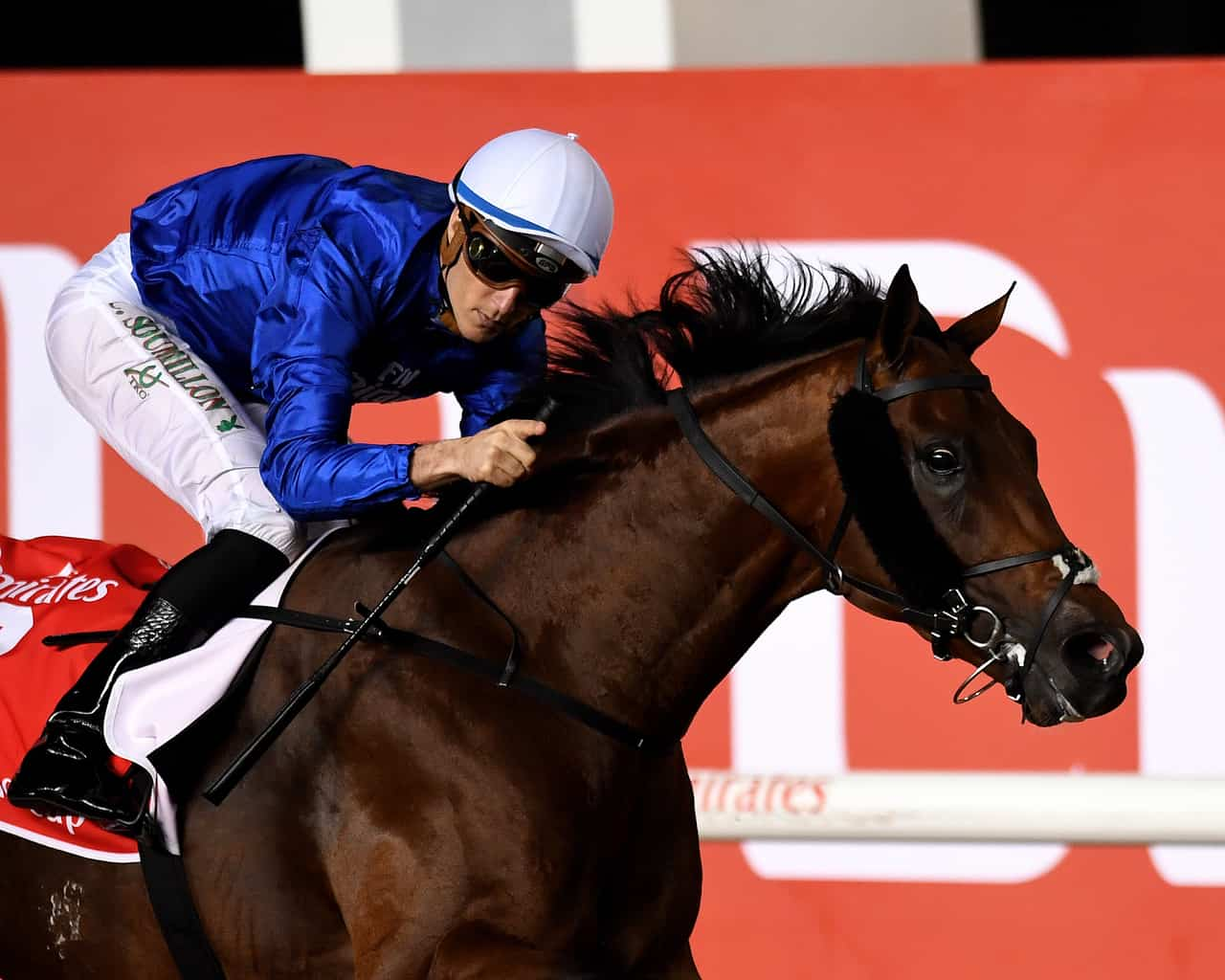 Thunder Snow Rolls to Dubai World Cup Win Over West Coast
