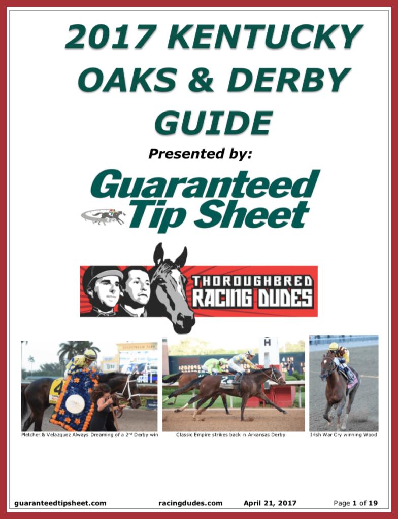 2017 Kentucky Oaks / Derby Wagering Guide