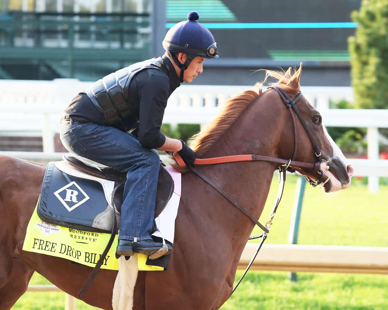 Justify installed the early 3-1 favorite for Kentucky Derby