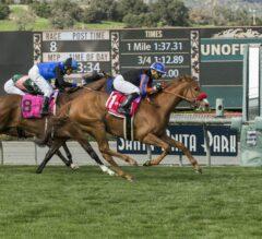 Madam Dancealot Overcomes Slow Pace In G2 Santa Ana