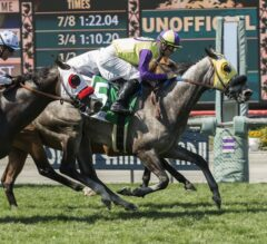 Perfectly-Timed Ride Punches Hunt's Ticket to Breeders' Cup