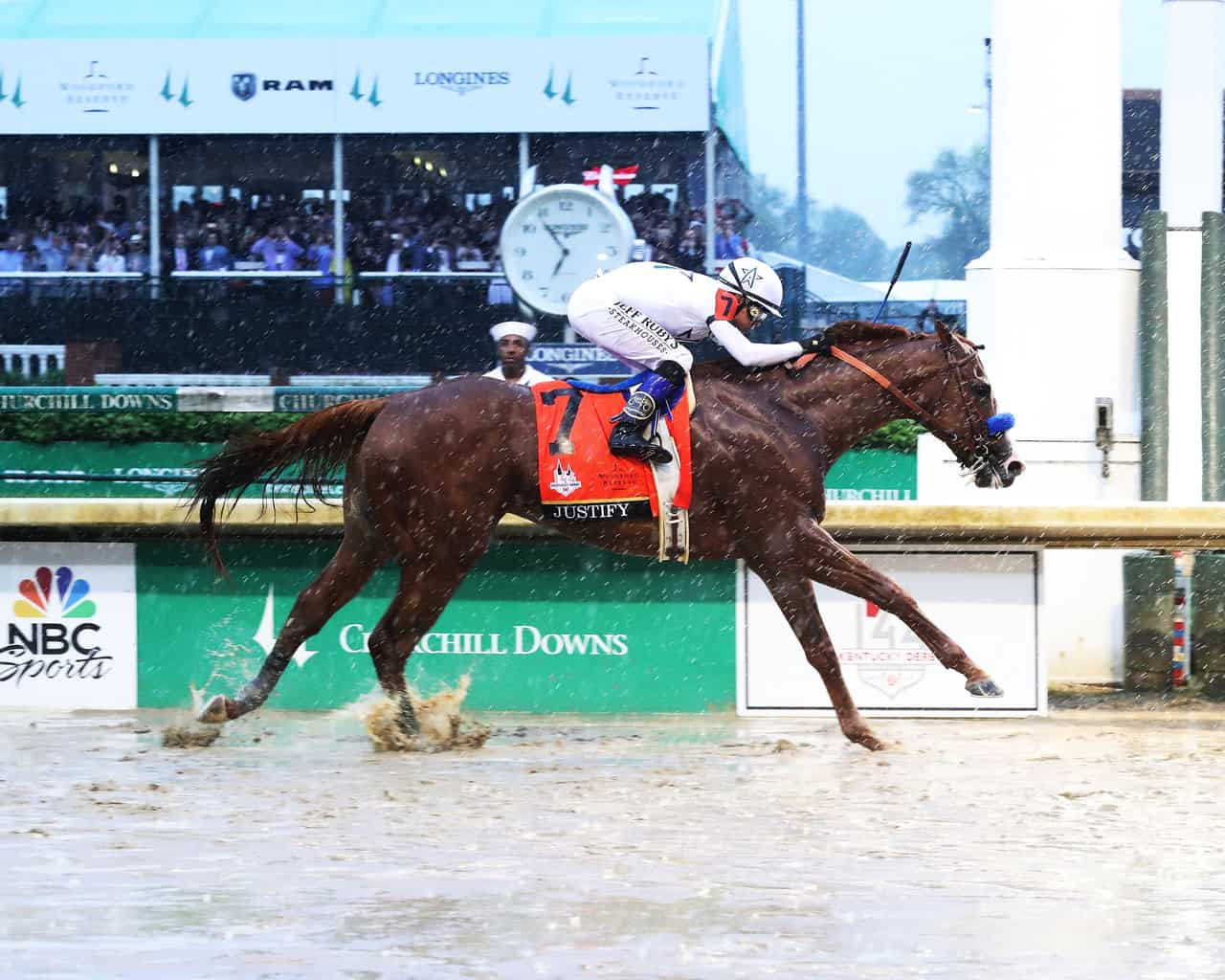 Justify Wins 144th Kentucky Derby | Thoroughbred Racing Dudes