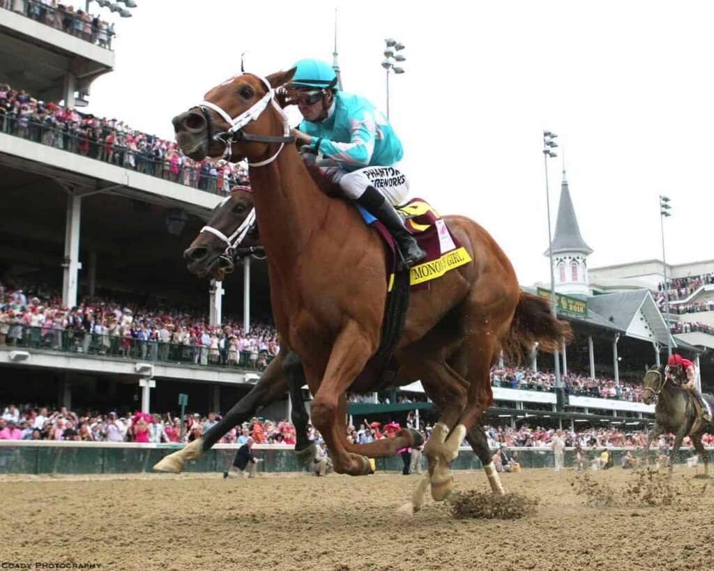 Monomoy Girl wins Kentucky Oaks