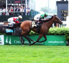 Proctor's Ledge Rallies Late, Takes G2 Churchill Distaff Turf Mile