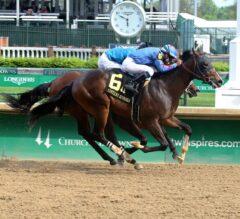 Weiland Waylays Way to Win in $100,000 Kentucky Juvenile