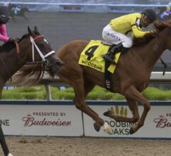 Dixie Moon Digs in to Win the $500,000 Woodbine Oaks