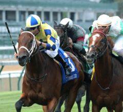 Lovely Bernadette Brings the Late Speed in the G3 Old Forester Mint Julep