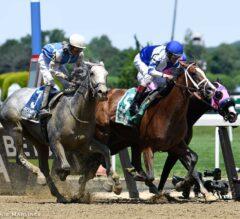 Prince Lucky Springs Upset in $150,000 Easy Goer Stakes