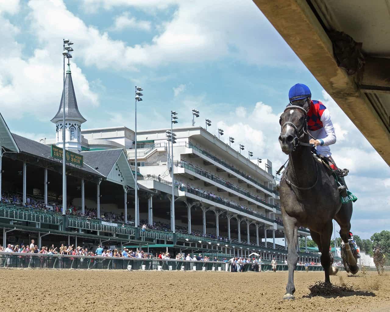 Restless Rider Ravages Record in $100,000 Debutante | Thoroughbred ...