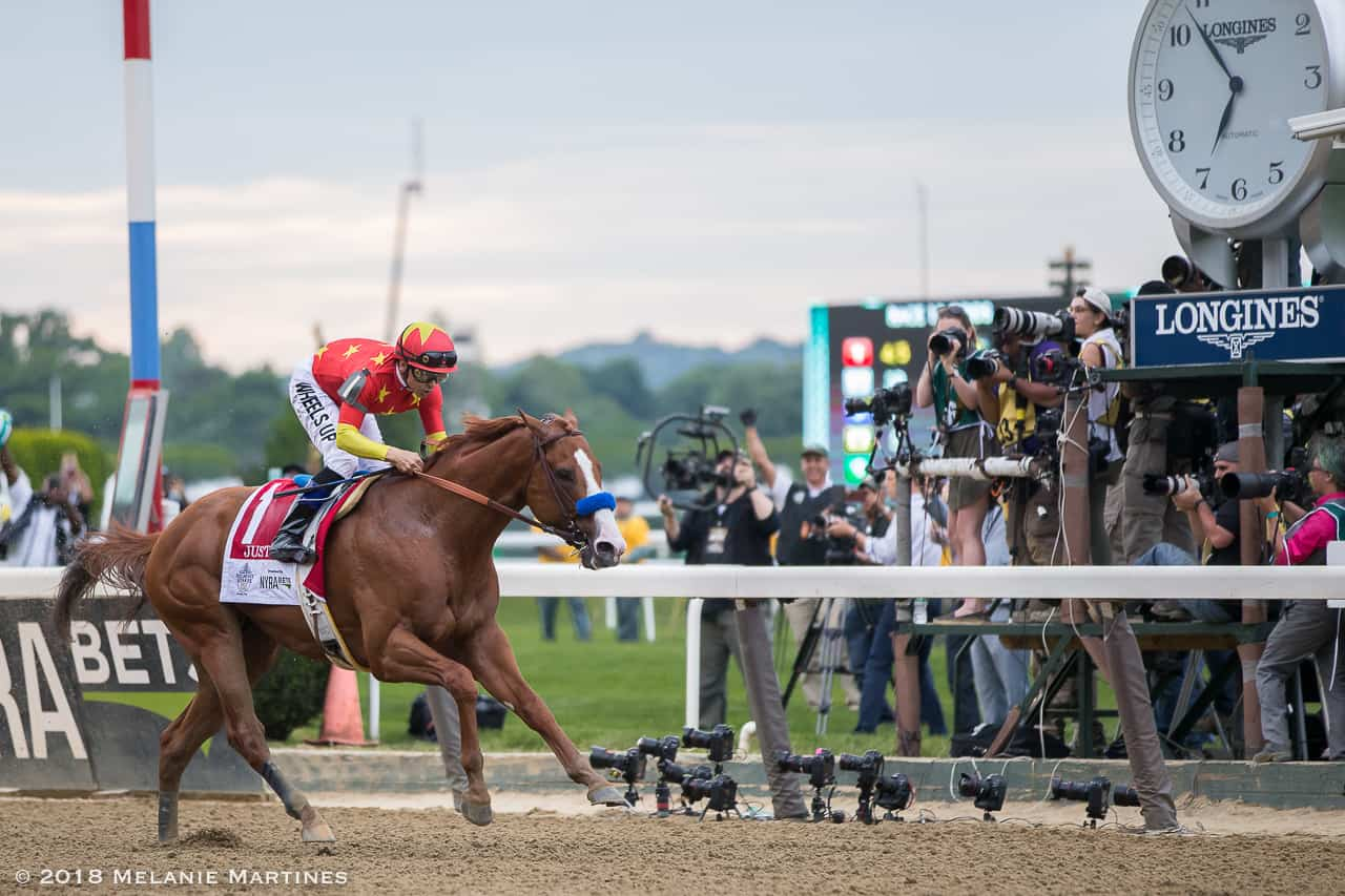 Justify wins Triple Crown