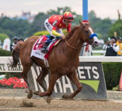 Justify Achieves Immortality in 150th Belmont Stakes