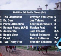 Pick 4 to Score:  Del Mar Pacific Classic