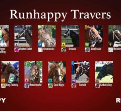 149th Travers Stakes Field Set
