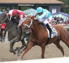 Midnight Bisou Wins Controversial G1 Cotillion