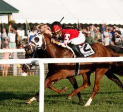 Henley's Joy Prevails in $400,000 Kentucky Downs Juvenile