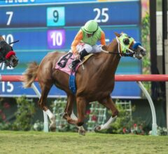 King of Speed Breaks Through in $100,000 Del Mar Juvenile Turf