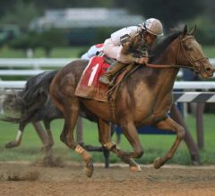 Yoshida Takes to Dirt & Takes Off in G1 Woodward