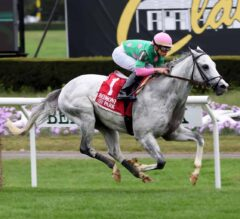 Never a Doubt for Disco Partner in the $150,000 Belmont Turf Sprint Invitational