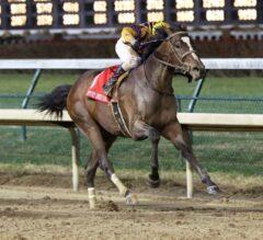 Signalman Noses Out Big Score in G2 Kentucky Jockey Club