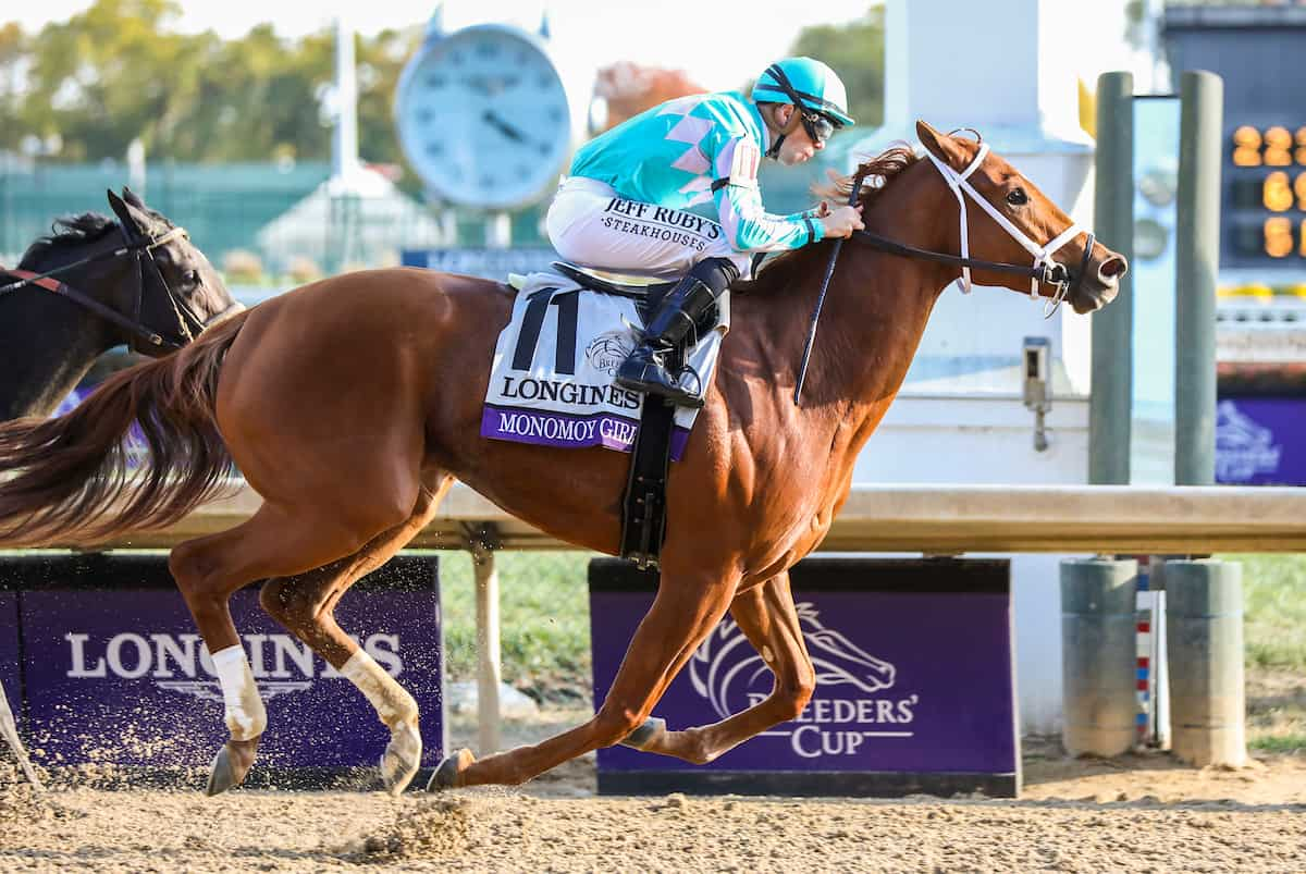 2018 Champ Monomoy Girl Tops Breeders' Cup Distaff Pre-Entries