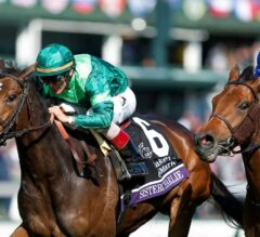 Sistercharlie Squeaks Out Filly & Mare Turf Score