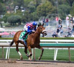 Bellafina Asserts Dominance In Santa Anita Oaks