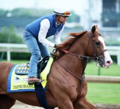 Improbable 5-2 Morning-Line Favorite for 144th Preakness Stakes