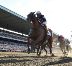 Sir Winston Shines in Belmont