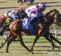 Daring Late Run Wins San Clemente for Mucho Unusual