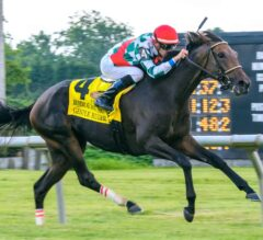 Gentle Ruler Finishes Strongly in Robert G. Dick