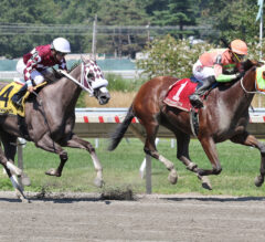 Horologist Perfectly Times Monmouth Oaks Upset