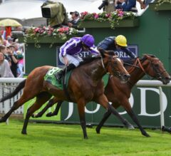 Japan Nails Crystal Ocean at Wire to Win Juddmonte International at York, Gains Automatic Breeders' Cup Classic Berth