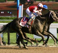 Midnight Bisou Ekes Out Elate in Personal Ensign