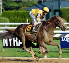King Zachary Shatters Track Record in Birdstone