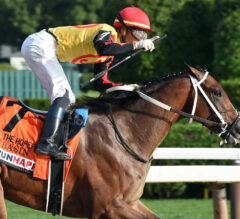 Basin Leads Asmussen Trio Home in Hopeful