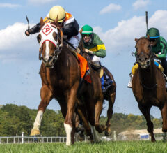 Caribou Club Holds Tight Late in BWI Turf Cup