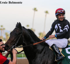 Oceanside Preview: Tizamagician Takes First Turf Steps