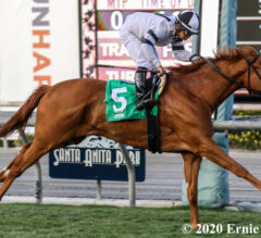 Warren's Showtime Unleashes Sharp Rally in California Cup Oaks