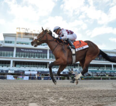 Tiz the Law Back on Top in Latest NTRA Poll