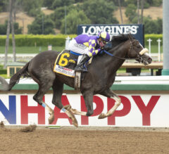 Honor A. P. Wins Santa Anita Derby