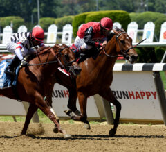 Frank's Rockette Out-Bobs Reagan's Edge in Victory Ride