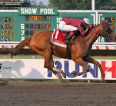 Laki wins Oceanport Centennial Stakes as handle hits $3.4 million for Monmouth Park's opening six-race card