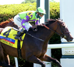 Rushing Fall Defends Jenny Wiley Title