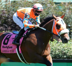 Fancy Liquor Triumphs in American Turf